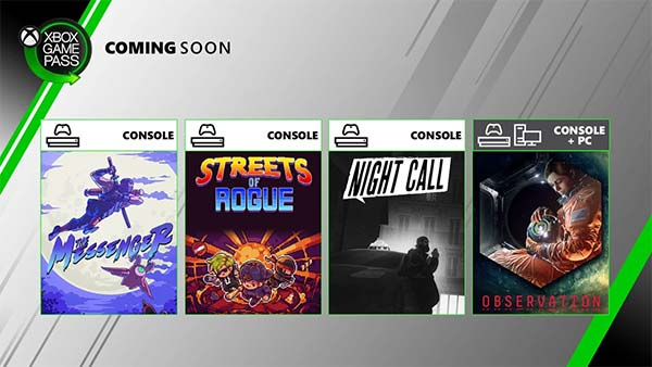 New Games Coming Soon to Xbox Game Pass for PC and Console
