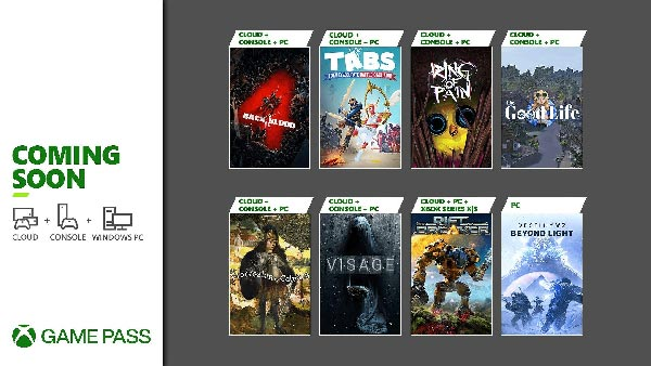 Games Coming to Xbox Game Pass in October 2021 on Console, Cloud & Windows PC