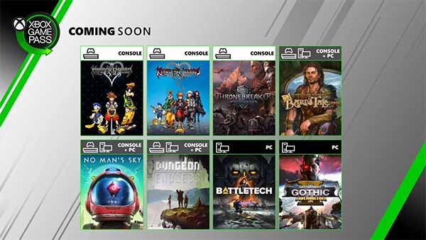 Coming Soon to Xbox Game Pass for Console and PC (June 2020)