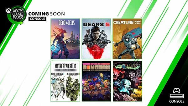 Xbox Game Pass September 2019 New Games