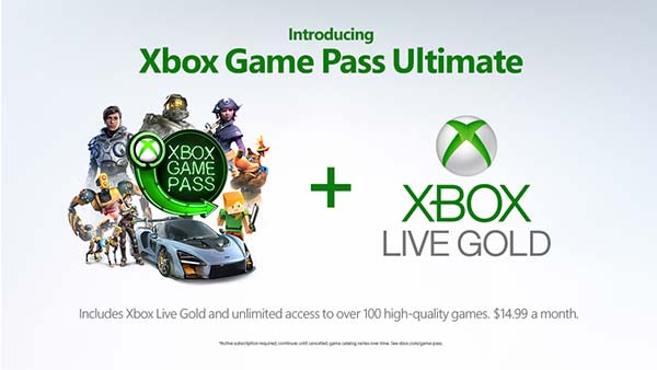 Microsoft Announces Xbox Game Pass Ultimate: $14.99 per month, coming in 2019