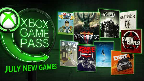 Xbox Game Pass: New games coming to Xbox Game Pass in July