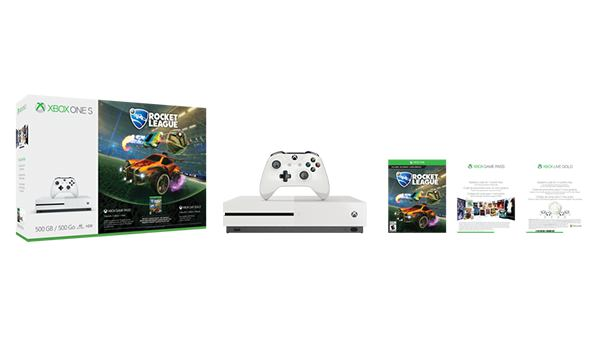 Xbox One S Rocket League Bundle