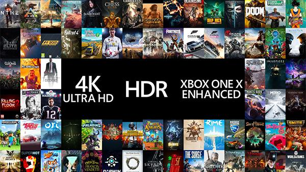 Xbox One X Enhanced Games List
