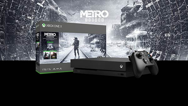 New Xbox One X Metro Saga Bundle Includes Metro Exodus, Metro 2033 Redux, & Metro: Last Light Redux