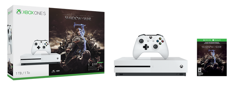 Xbox One S Shadow Of War Bundles Arrive October 10