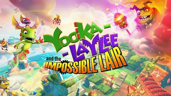 Yooka-Laylee and the Impossible Lair launches on Xbox One, PlayStation 4, Nintendo Switch and Windows PC