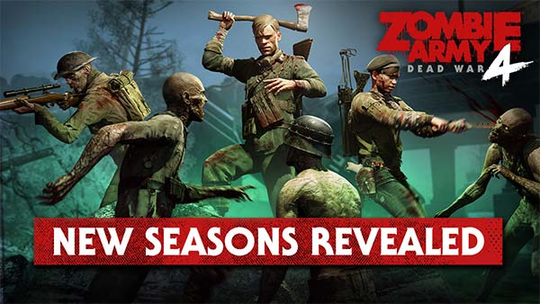 ZOMBIE ARMY 4: SEASON 2 kicks off on all platforms with new free horde map and more